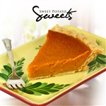 "SWEET POTATO SUGAR FREE PIE 9"" LARGE"